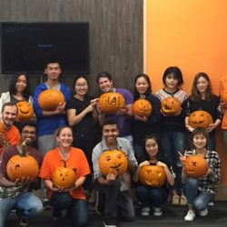 Photo from ICP Program Pumpkin Carving