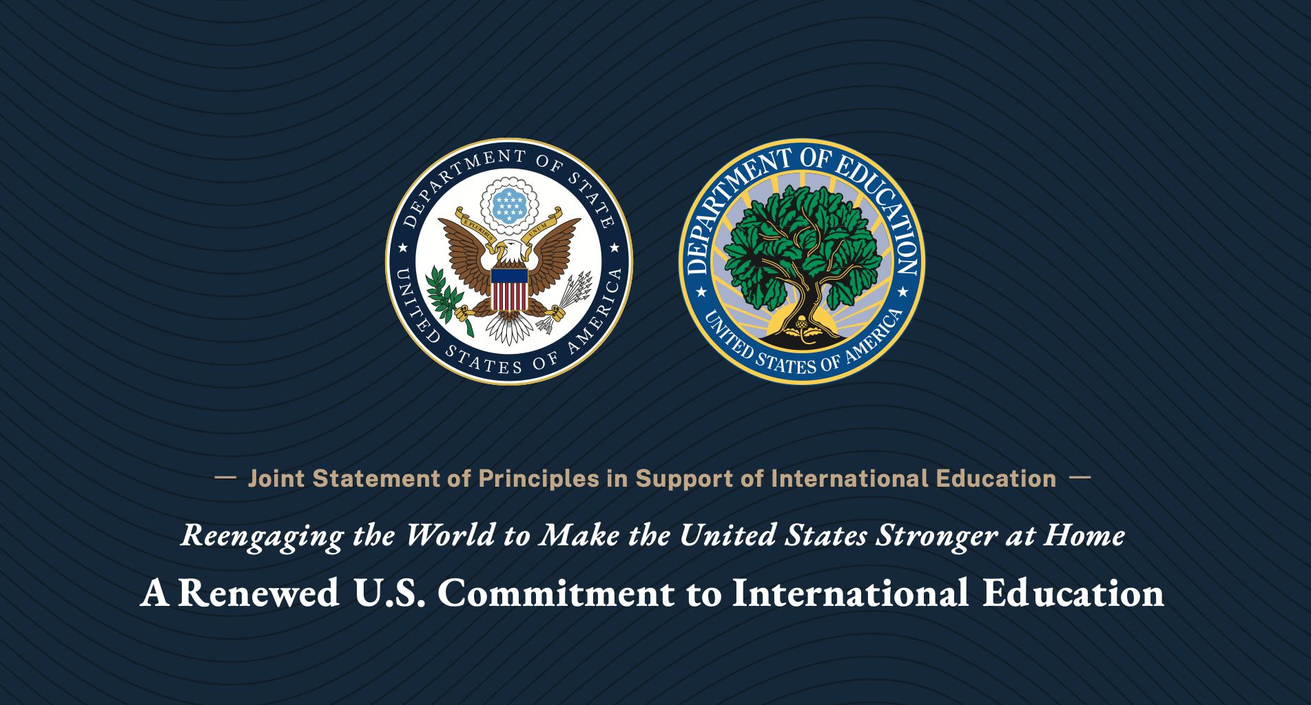 Joint Statement International Education